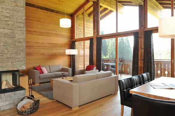 Arredo Montagna Chalet. Latest Chalet Di Montagna Margraf With ...
