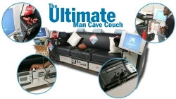 Domino's Pizza Man Cave Couch