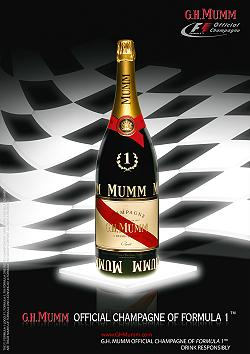 G.H. Mumm Official Champagne of F1