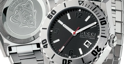 Gucci Pantheon Diver Automatic 1,000 Feet