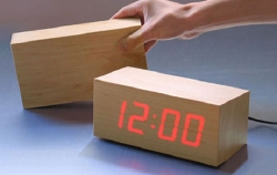LED block clock