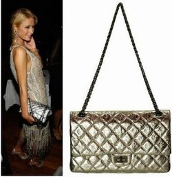 Paris Hilton e la sua Chanel Classic 2.55 Quilted Bag