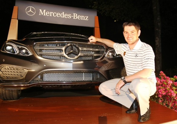 Mercedes benz louis oosthuizen nuovo golf brand ambassador for Mercedes benz brand ambassador
