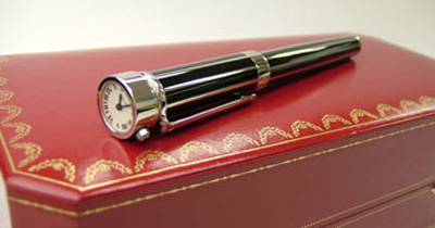 cartier pen watch
