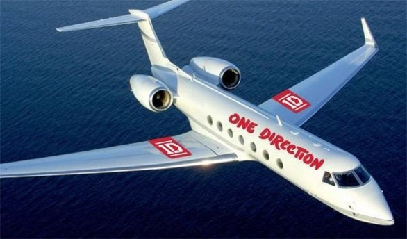 Jet di lusso One Direction