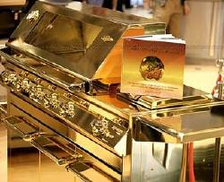 Gold Plated Grill