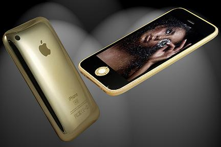 iphone 3gs full gold swarovski edition