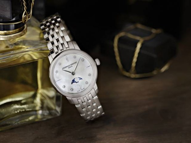 Orologi Frédérique Constant Slimline Moonphase Ladies