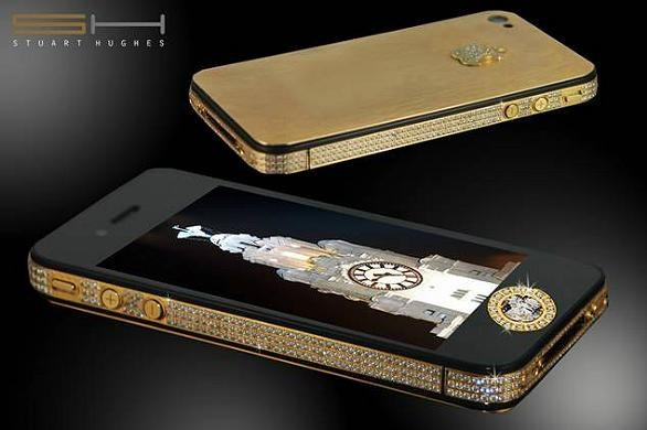 iPhone 4S Elite Gold di Stuart Hughes: cellulare da record