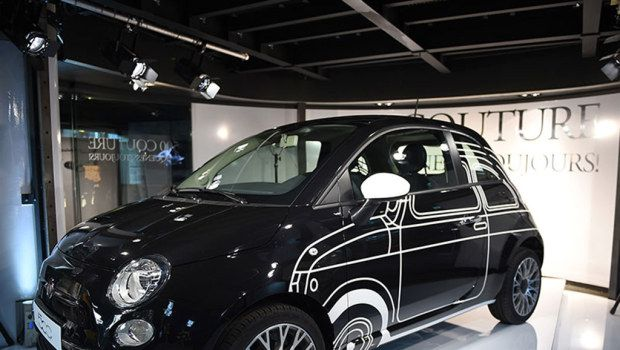 Fiat 500 Ron Arad Edition, serie speciale luxury Made in Italy