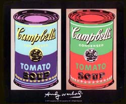 Warhol Campbell\'s Soup
