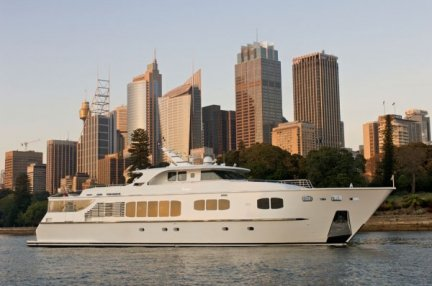 Yacht di lusso Kevin Spacey