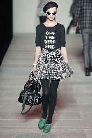 New York fashion week donna autunno inverno 2008/09: Marc Jacobs