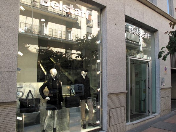Shop Belstaff official signing in Spain in Madrid.