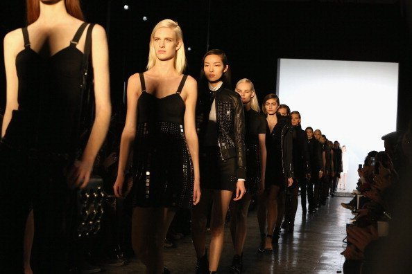 Diesel Black Gold - Front Row - Mercedes-Benz Fashion Week Fall 2014