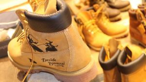 40 anni di Timberland yellow boot