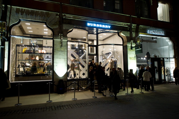 Burberry Stockholm Store Launch