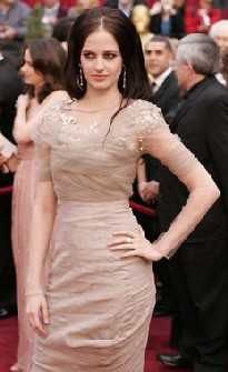eva green oscar 2007 givenchy