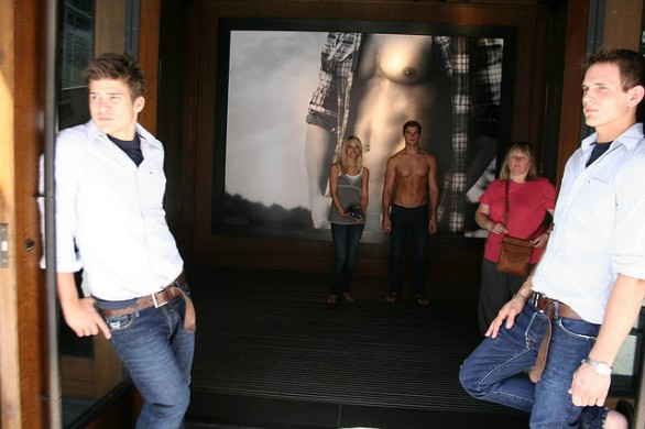 Abercrombie & Fitch commessi