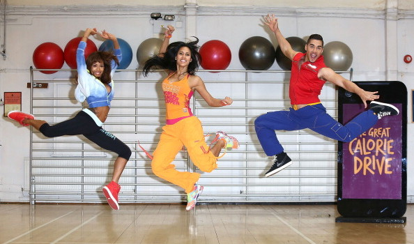 Zumba Fitness Great Calorie Drive - Photocall