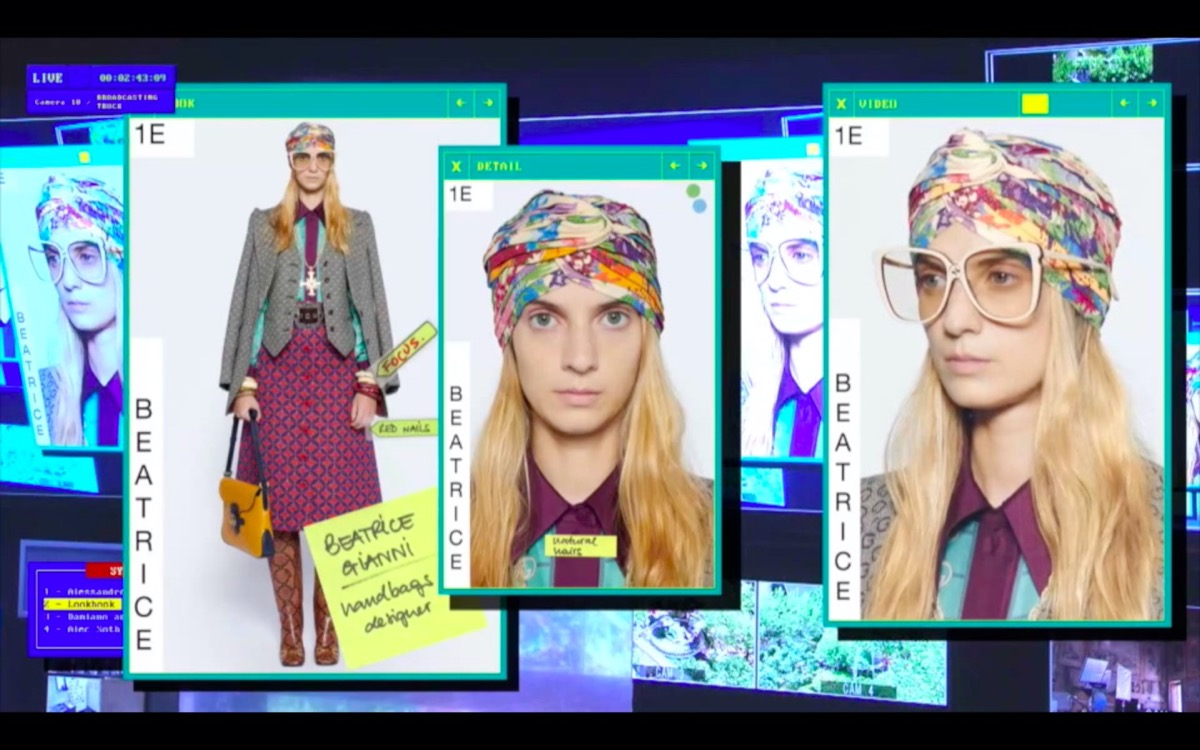 Digital Fashion Week collezione Gucci