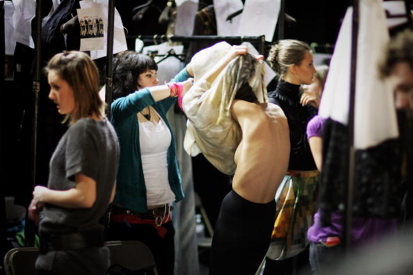 Size Zero Models Become The Focus Of London Fashion Week