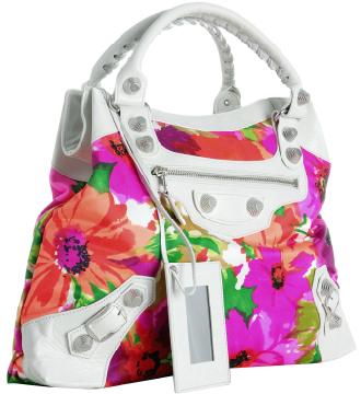 Balenciaga Giant Floral Bag