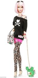 Speciale Barbie punk in limited edition con Tokidoki