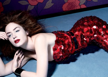 Emily Blunt su The New York Times Style