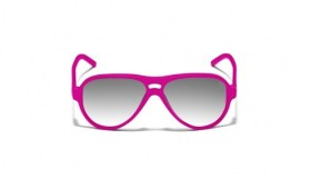 Italia Independent pink fluo sunglasses