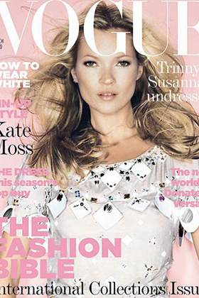 Kate MOss Vogue.co.uk March 2006 Cover