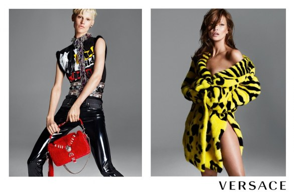 Advertising Versace autunno-inverno 2013-2014Advertising Versace autunno-inverno 2013-2014