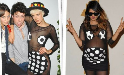 Agyness Deyn e M.I.A in House of Holland: vota il look