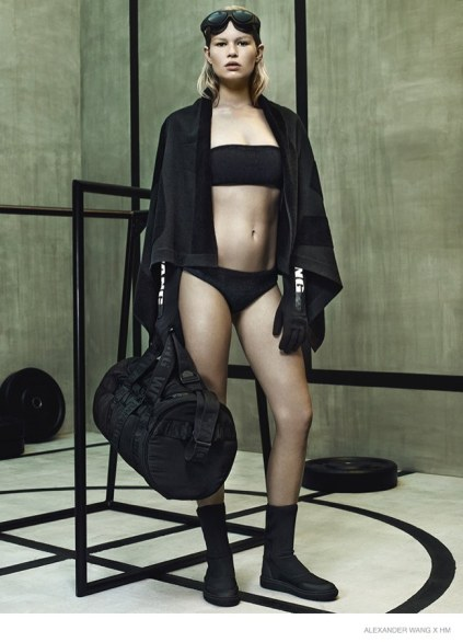 Alexander Wang X H&M, lookbook donna