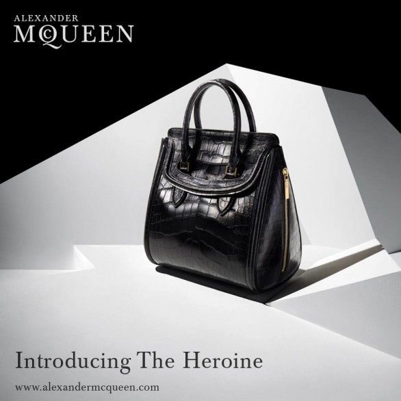 alexander mcqueen the heroine la nuova it bag