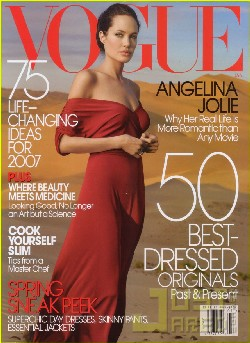 Angelina Jolie su Vogue