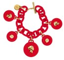 Bracciali Ops charms rosso