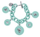Bracciali Ops charms turchese