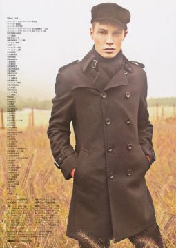 Burberry Black Label su Popeye magazine