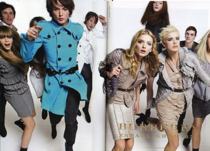 Campagna Burberry S/S 2008