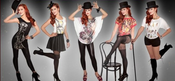 Burlesque cinema e moda - collezione Miss Selfridge