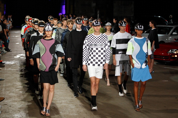Opening Ceremony - Runway - Mercedes-Benz Fashion Week Spring 2014