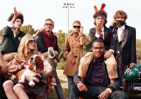 Campagna  Tommy Hilfiger autunno-inverno 2010/11
