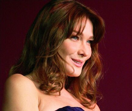 Carla Bruni in YSL al Sidaction AIDS Benefit Galà e altre celebrità