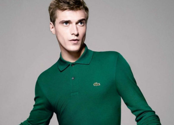 Clement Chabernaud testimonial Lacoste autunno inverno 2013 2014