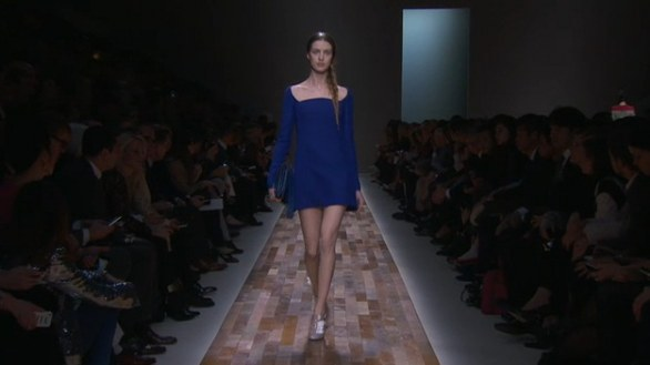 Valentino abito blu