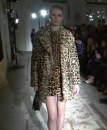 Moschino Cheap and Chic cappotto animalier
