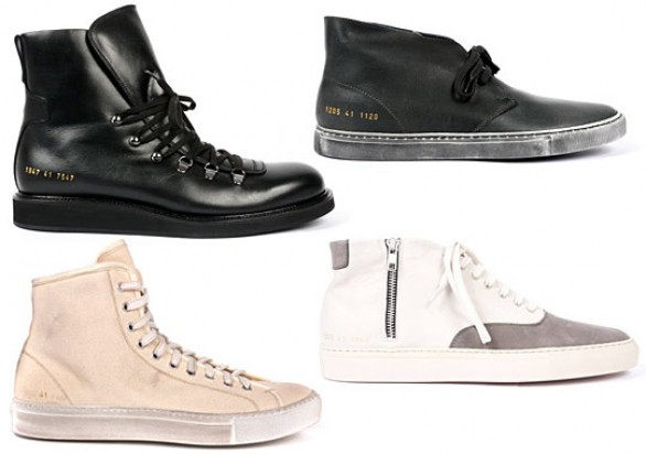 Common Projects collezione calzature autunno inverno 2010 2011