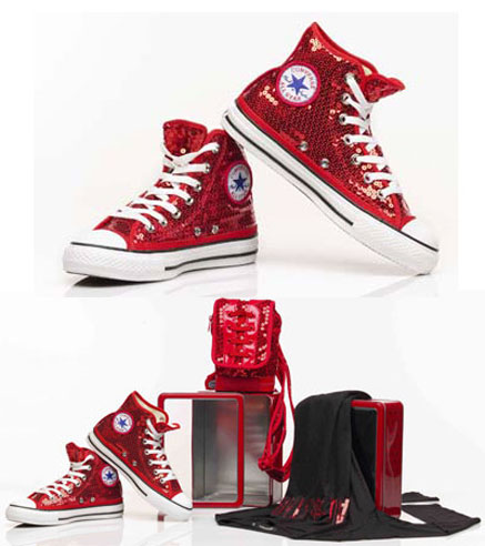 Converse All Star speciale Natale