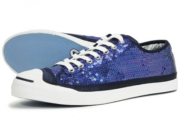 Converse Jack Purcell sneakers con paillettes